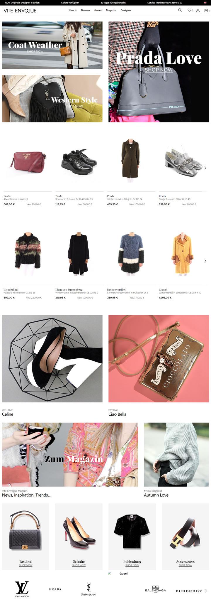 Bekleidung   Damen   Vite EnVogue Luxus Second Hand Designermode